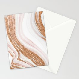 Modern Marble Stationery Cards