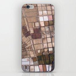 Salinas of Lanzarote iPhone Skin