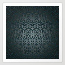 Jasmine Celtic Knotwork Art Print