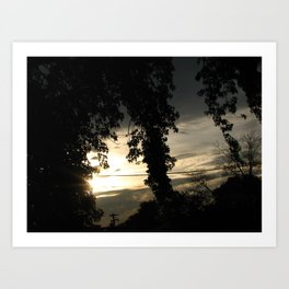 Ending Light Art Print