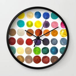 create peace with each step.  Wall Clock