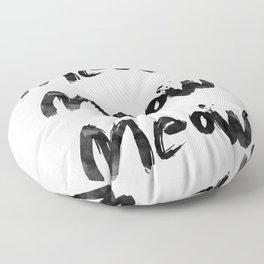 Meow Meow Meow 2 Floor Pillow