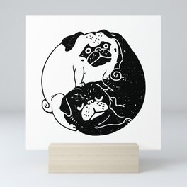 The Tao of Pug Mini Art Print
