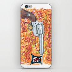 Quick draw iPhone & iPod Skin