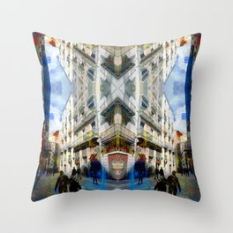 Akin to recalling, instead; understood mimicry. 01 Throw Pillow