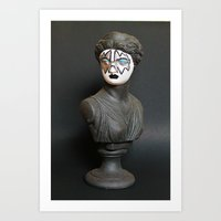 ace Art Prints featuring Ace by Beastie Toyz