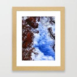 sky fall. Framed Art Print