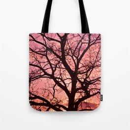 Evening Blush Tote Bag