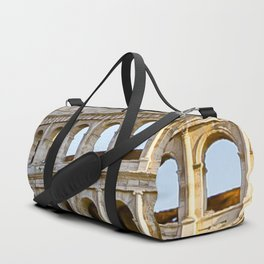 Vita Bellissima (Beautiful Life): Colosseum in Rome, Italy Duffle Bag