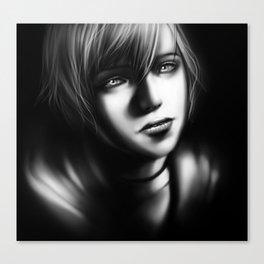 Heather Morris Portrait Canvas Print