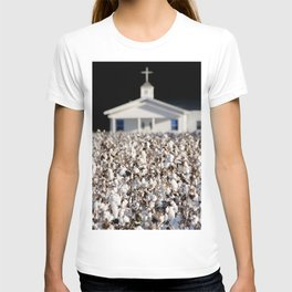 Little Church in the cotton field T-shirt