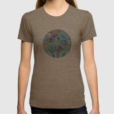 Reef #3 Womens Fitted Tee Tri-Coffee SMALL