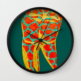 Tooth 2 Wall Clock