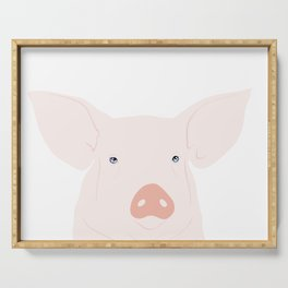 Hello pig Serving Tray