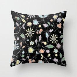 Chalkboard Scatter Throw Pillow