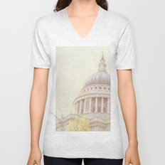 St Paul's Cathedral  Unisex V-Neck