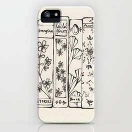 Row of Books iPhone Case