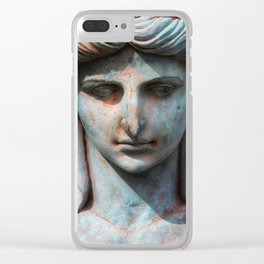 Stone Cold Clear iPhone Case