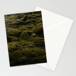 Icelandic Moss Texture Stationery Cards