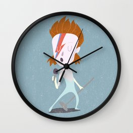 Mr. Bowie Wall Clock