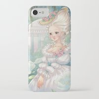 marie antoinette iPhone & iPod Cases featuring Marie-Antoinette by Pich illustration