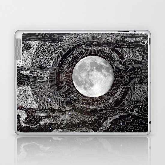 Moon Glow Laptop & iPad Skin