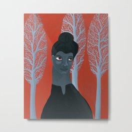 Ida B Wells portrait Metal Print