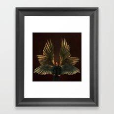 One Part Angel, One Part Danger Framed Art Print