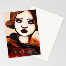 Charcoal V Stationery Cards