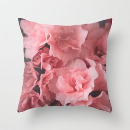 Pink Azalea | photography Throw Pillow