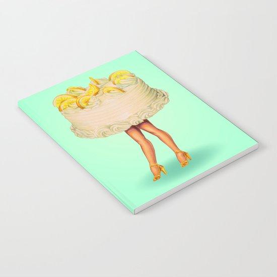 Cake Girl - Lemon Notebook