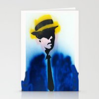 suits Stationery Cards featuring SUITS by Clay Bakkum