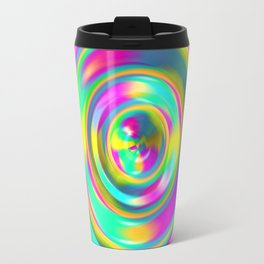 Pastel Swirl Travel Mug
