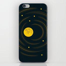 Moon And Stars Dream iPhone Skin