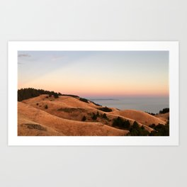 Untitled Sunset #1 Art Print