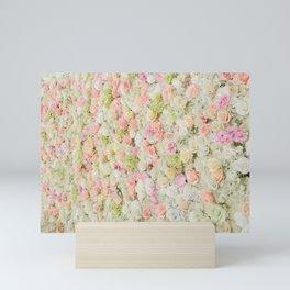Flower Wall Mini Art Print