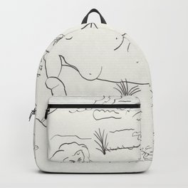 Naked in the Woods Backpack