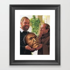 Oh, You Shouldn't Have: The Gift That Keeps On Creepin' Framed Art Print