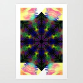 Northern Lights Fractal Art Print