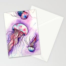 Emotion in the Ocean Stationery Cards