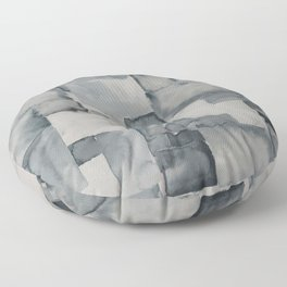 Pave Gray Floor Pillow