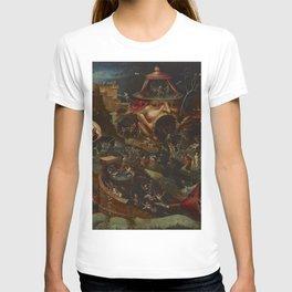 CHRIST IN LIMBO - HIERONYMUS BOSCH  T-shirt