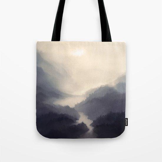 Mistscape Tote Bag
