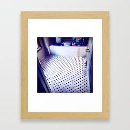 S Marks the Spot Framed Art Print