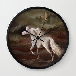 Storybook Stallion Wall Clock