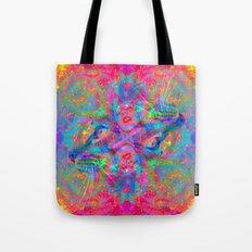 Flower Trip-Sir Parker Tote Bag