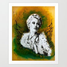 Wing Series Three (Angel) Art Print