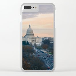 Capitol Hill Clear iPhone Case
