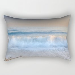"""Looking at the waves II"" Sea dreams Rectangular Pillow"