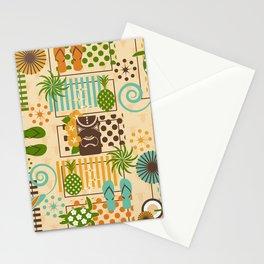 Retro Hidden Hawaiian Stationery Cards
